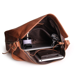 Image 5 - Ayakkabıcı Legend Vintage çanta kadınlar için hakiki deri omuzdan askili çanta kadın Crossbody Hobos çanta bayan çantası 2019 tasarımcı