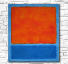 Mark Rothko Abstract American Style Frameless Unframed Oil Painting Canvas Waterproof airbrush square design art