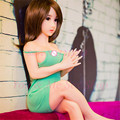 2016 100cm Real Silicone life size sex dolls,Lifelike real silicone mini sex doll with big breast oral/vagina sexy toys for man