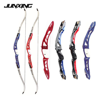 F165 Recurve Bow 68 Inches 18 40 Lbs Aluminum Alloy Handle and Maple Limbs for Archery Hunting Shooting