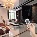 3 Gang 1 Way Remote Control Switch EU, Wireless RF 433Mhz Remote Control Wall Touch Switch, Crystal Glass Switch Panel 220V