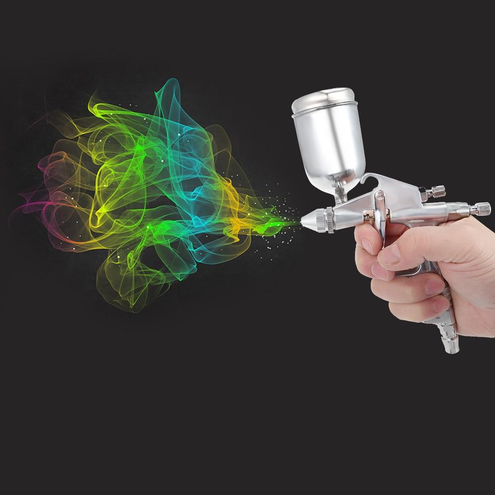 цена на K-3 Mini Professional HVLP Gravity Feed Air Spray Gun Air Paint Spray Guns Airbrush For Painting Car Aerogra