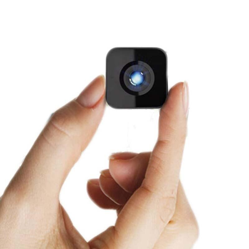 цена на New Wifi Wireless Smart Mini Camera Camcorder 1080P HD IR Night Vision Wide Angle Sports Action DV DVR Phone Remote Playback