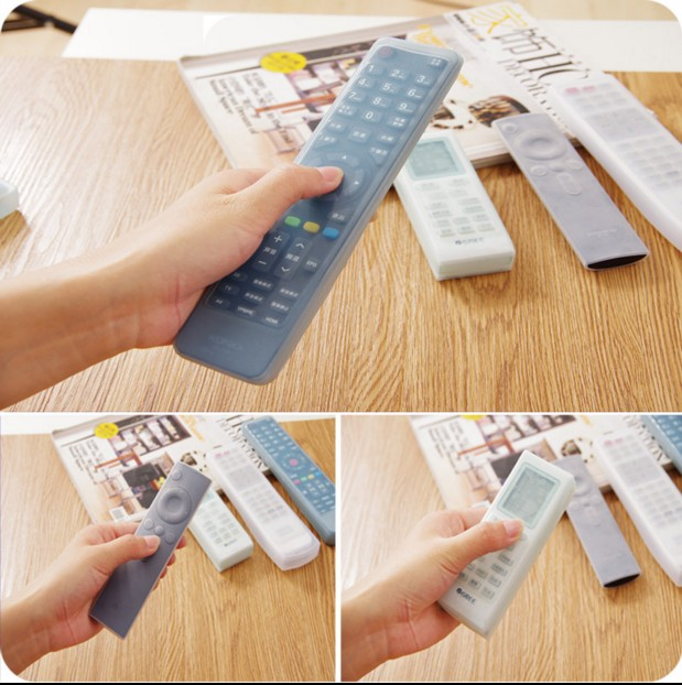 1PC Silicone TV Air Condition Remote Control Protector Case Cover Protective Case Anti-dust Waterproof Protector For Video AC