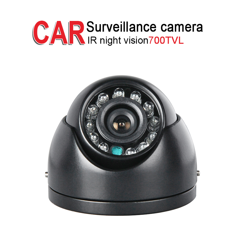 700TVL Mini Metal Camera,Ceiling,Indoor,IR Night Vision,3.6mm,PAL/NTSC,CCD Sony for Car dvr School Bus Truck Vans Boat Security ahd 2 0mp indoor truck mini camera ir night vision 1 3 ccd sony pal 3 6mm for vehicle school bus vans taxi surveillance security