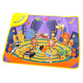 2017 Hot Kids Baby Zoo Animal Musical Touch Play Singing Carpet Mat Toy Fashion Gift education baby toy Developmental