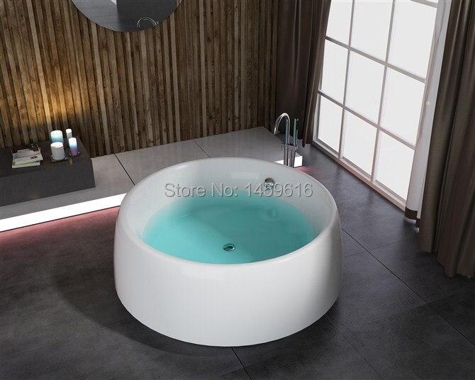 71\' Round freestanding Fiberglass bathtub Acrylic ABS composite ...