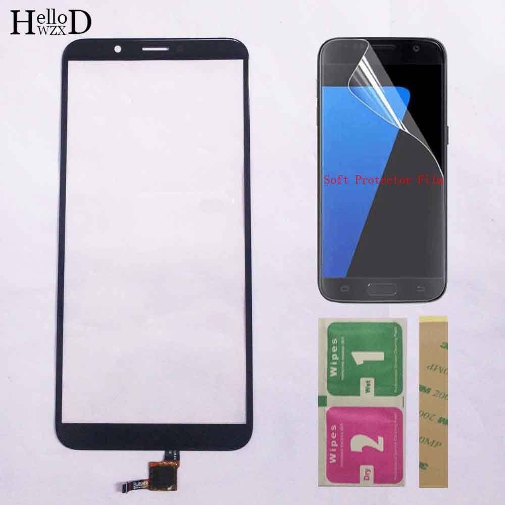5.99'' Touch Panel For Huawei Honor 7C LND-L29 Touch Screen Sensor Honor 7C Pro Honor 7CPro Digitizer Panel Glass Protector Film