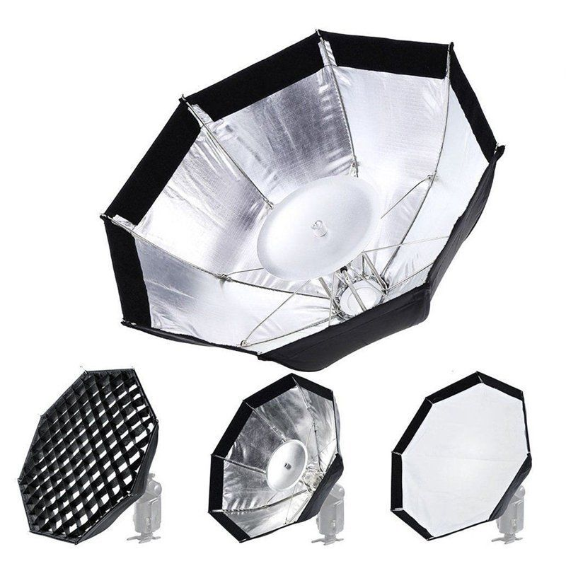 Godox AD-S7 Multifunctional Soft Box Octagonal Honeycomb Grid Umbrella Softbox for WITSTRO Flash Speedlite AD180/AD360 5sets 35pcs high quality surgical tweezers stainless steel precision medical bent dental forceps extraction teech health care