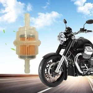 Image 3 - Benzin In Linie Universal Klar Kraftstoff Filter Motorrad Klar Gas Kraftstoff Filter Offroad Motorrad Filter