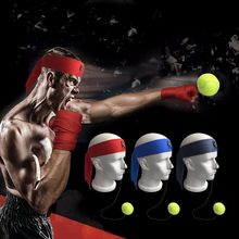 Fight Ball Lomachenko Punching Ball Boxing Gym Equipment Training Balls Muay Thai Boxing Trainer Accessories Speed Fast Ball(China)