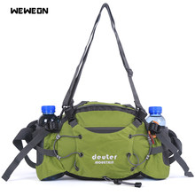 Outdoor Hiking Running Bag Sport Waist Bag Running Accessories Travel Handy Shoulder Chest Pack with Bottle Holder Riding bolsa(China)