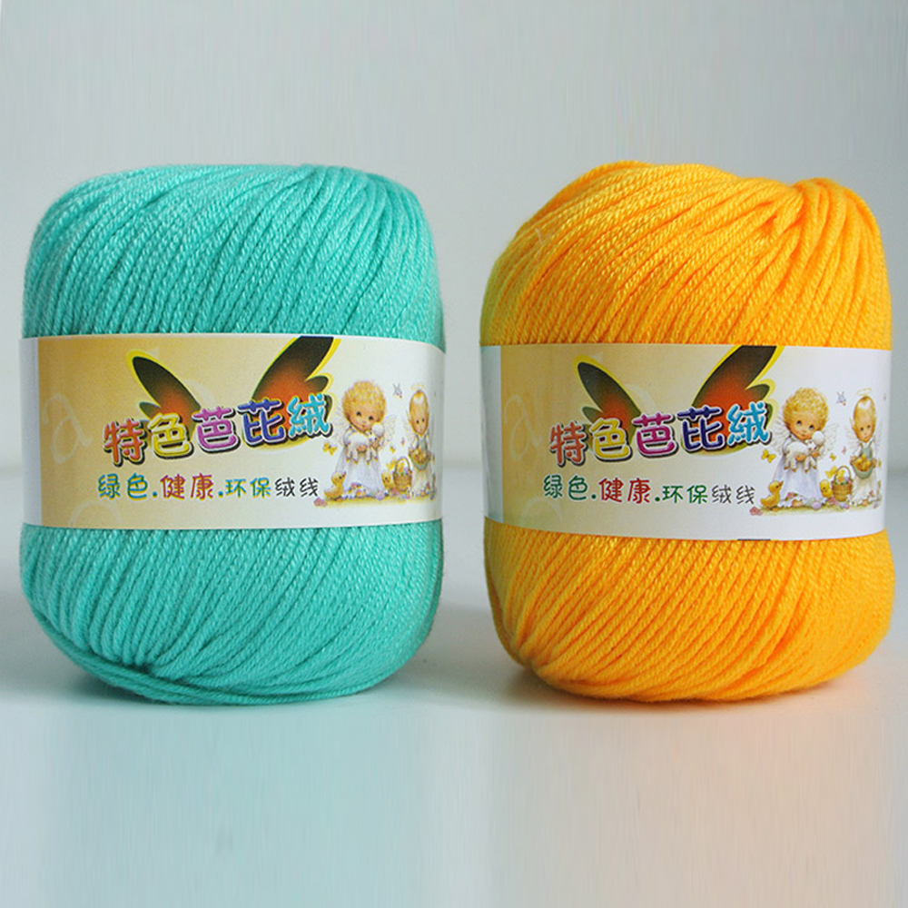 Wholesale super soft eco friendly baby yarn for knitting for Cheap baby fabric