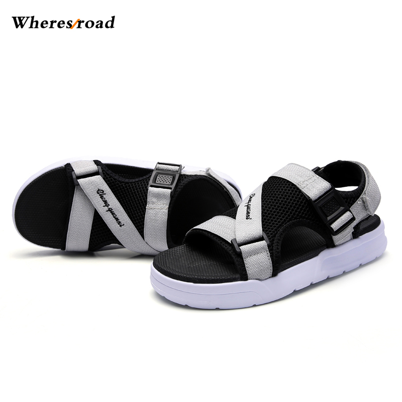 New 2018 Summer Mens Comfortable Breathable Outdoor Tracking Shoes Man Beach Sandals Ope ...
