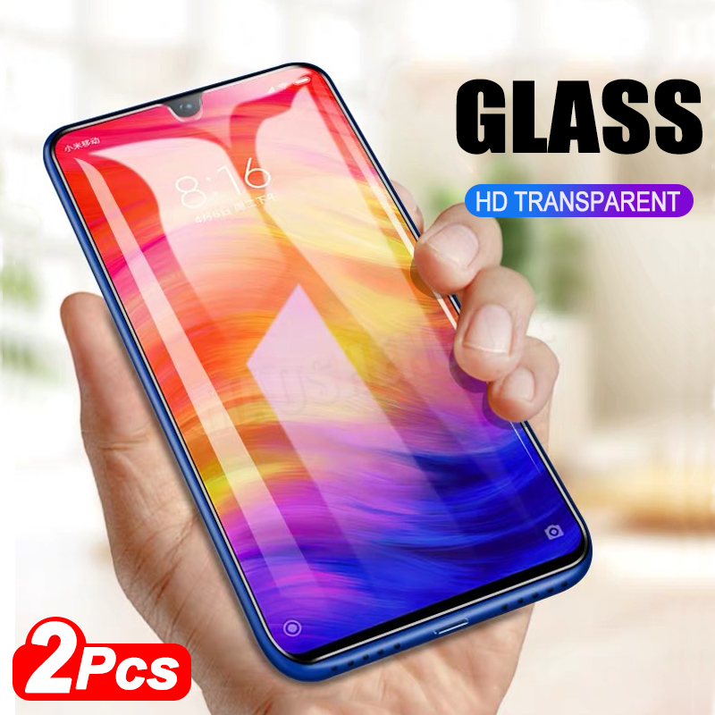 2pcs Tempered Glass For Xiaomi Redmi Note 5 7 Global Version Screen Protector Anti Blu-ray Tempered Glass For Redmi Note 7 5 Pro