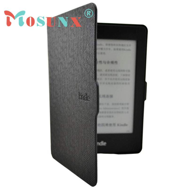 2016 New Smart Ultra Slim Magnetic Case Cover For Kindle Paperwhite with Screen film ultra slim