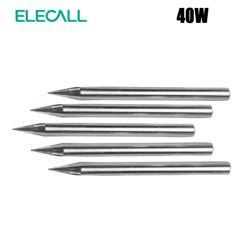 ELECALL Best Sale Specially For ESI-S60 40W Replacement Soldering Iron Tip Lead-Free Solder Tip