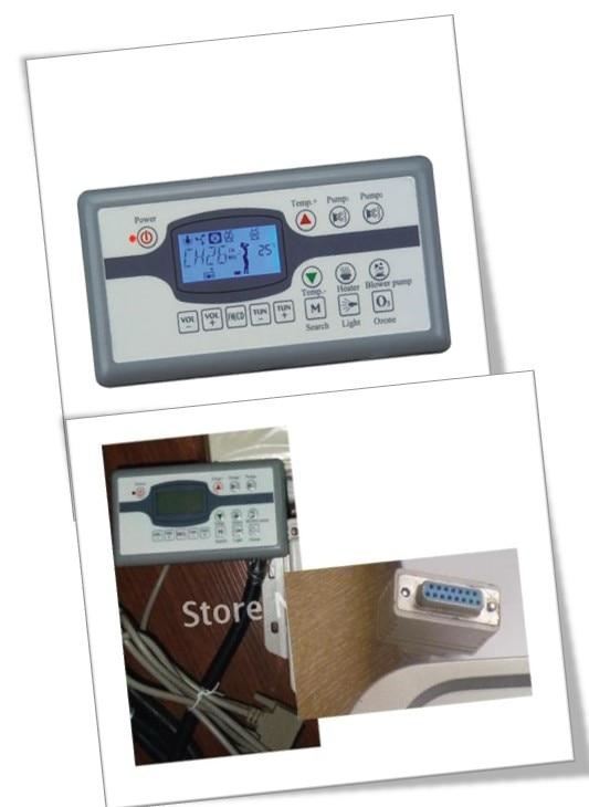купить China hot tub spa bathtub MONALISA MN07D1 topside control keypad ONLY по цене 8128.42 рублей