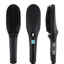 Выпрямитель для волос 2020 антистатические керамические щетки
