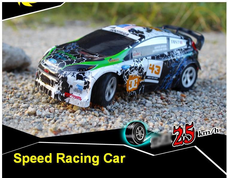 все цены на Wltoys A989 Mini rc Car 1/24 2.4G speed Remote Control Toys for Children Christmas Gifts Birthday present