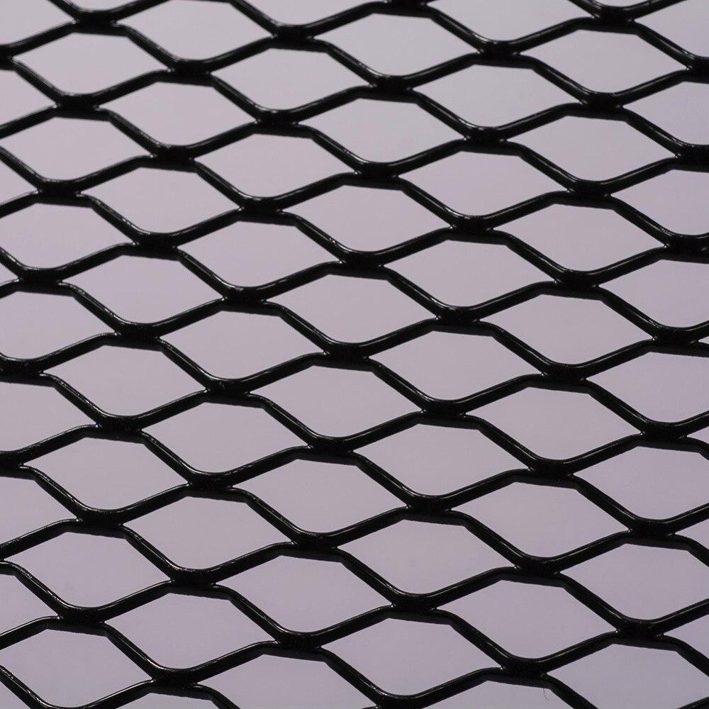 DIY ראסינג גריל אוניברסלי Fit עבור רכב גזיר קדמי פגוש דבש מסרק רשת 100cm x 33cm