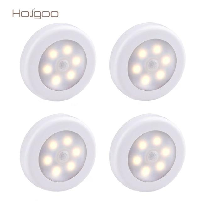 Holigoo closet nachtlampje bewegingssensor licht batterij for Bewegingssensor voor led verlichting