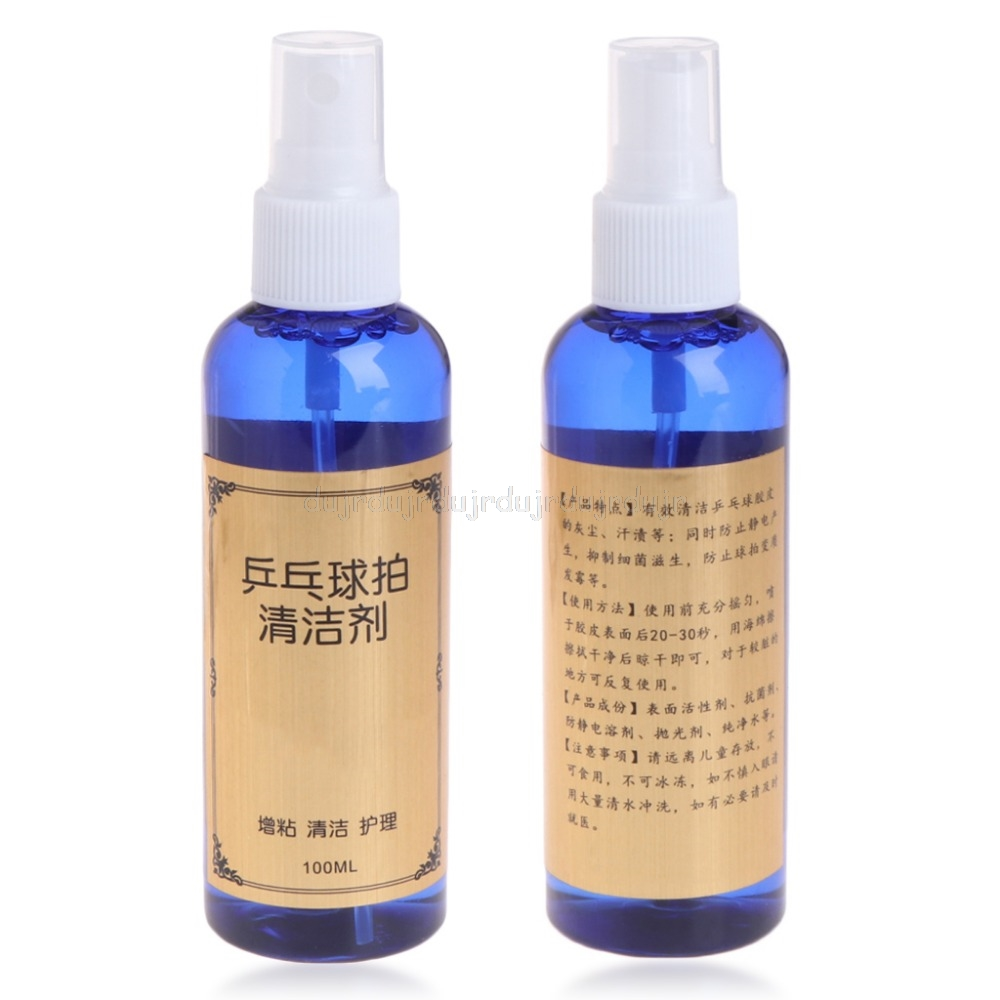 100ml Cleaning Agent Cleaner For Table Tennis Pingpong Rubber Racket Bats N20 Dropship