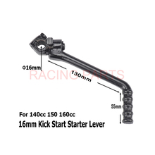 16mm Kick Start Starter Lever For 140cc 150cc 160cc Chinhese Pit  Dirt Motor Bikes Engine Lifan YX YCF SDG SSR