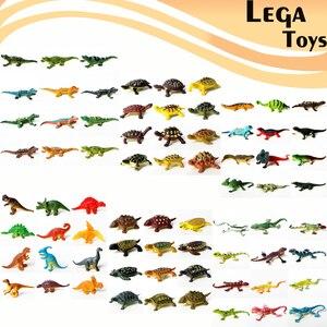 Image 1 - 12 pièces éducatif réaliste Reptile figurines daction jouer ensemble avec dinosaure lézards crocodile tortue parfaite partie modèle jouets