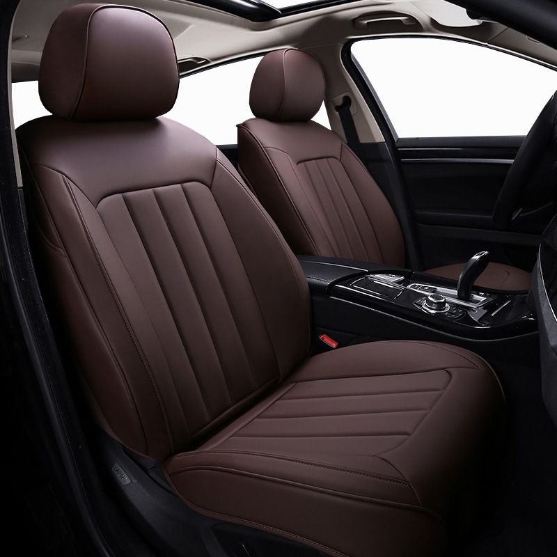 все цены на Special Leather car seat covers For Toyota RAV4 PRADO Highlander COROLLA Camry Prius Reiz CROWN yaris car accessories styling онлайн