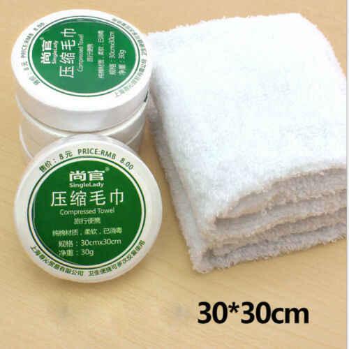 Ręcznik skompresowany Hot Casual Mini ręcznik skompresowany bawełna kąpiel myjka podróżna wielokrotnego użytku dwa rozmiary