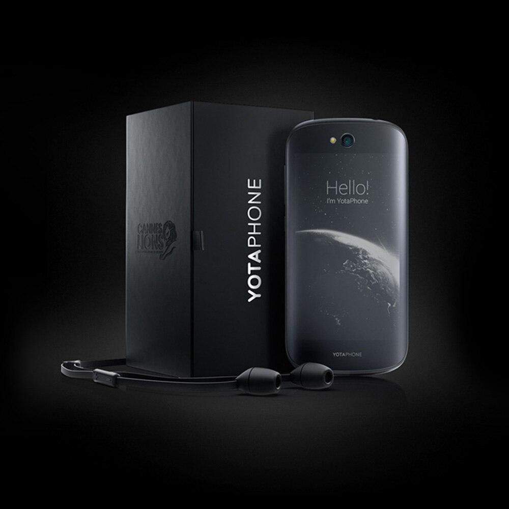 Оригинал yota yotaphone 2 мобильный телефон qualcomm Львиный зев 800 5.0 дюймов fhd yd206 всегда-на задний экран 2 г + 32 г 4 г lte смартфон