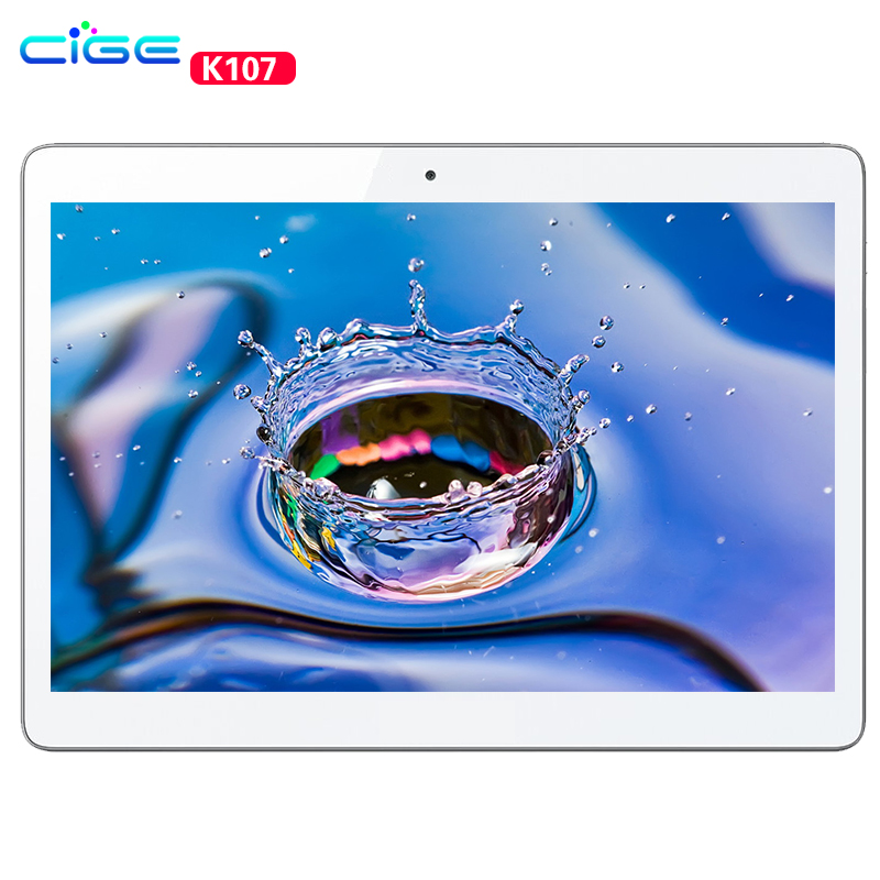 CIGE 2017 Newest Tablet PC 10 1 inch 3G Android 6 0 1280 800 Quad Core