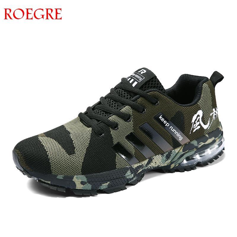 ผู้ชายรองเท้าสบายๆ 2019 ฤดูใบไม้ผลิและฤดูร้อนเดินรองเท้า man camouflage breathable anti - slip ighh คุณภาพหรูหราหญิงรอง...