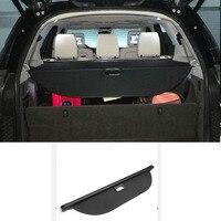 Подходит для Land Rover Discovery 5 L462 2017 2018 черный интерьер аксессуары задний багажник выдвижной грузовые Чемодан крышка
