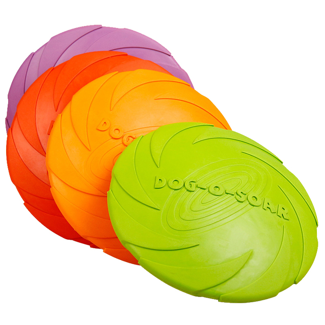 Durable Soft Dog Frisbee