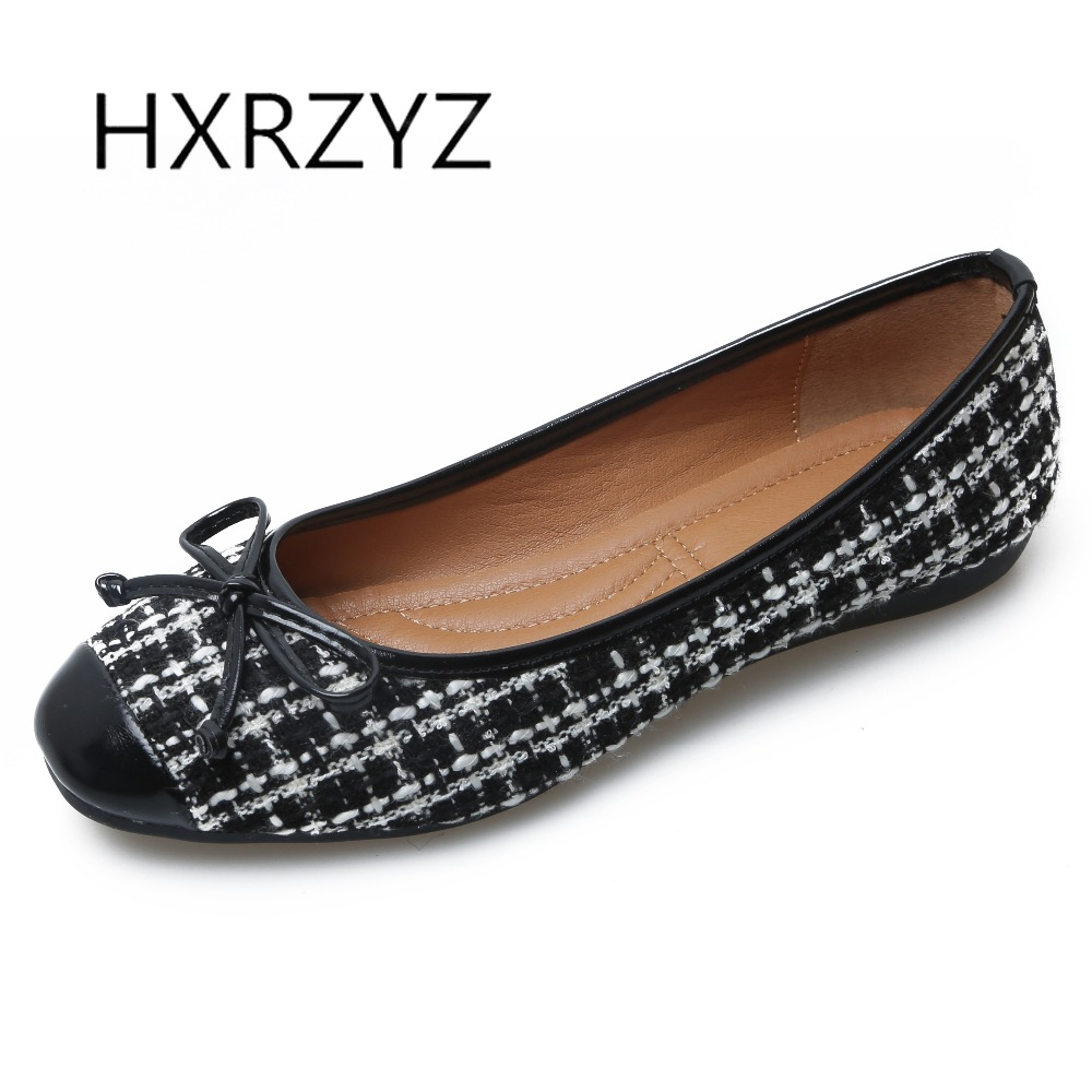 HXRZYZ large size women black flat shoes female weaving cloth loafers spring and autumn new fashion ladies bowknot casual shoes hxrzyz large size women black flat shoes female patent leather loafers spring autumn new fashion pointed toe buckle casual shoes