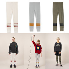1-10Y Kids Pants 2018 Autumn Winter Bobo Choses Stripeds Legging For Baby Boys Girls Pants Trousers Casual Children Clothing