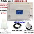 Tri Band Mobiele 2G 3G 4G GSM 900 DCS 1800 3G WCDMA 2100 MHz Mobiele Telefoon Mobiele Netwerk Signaal Versterker Signaal Repeater