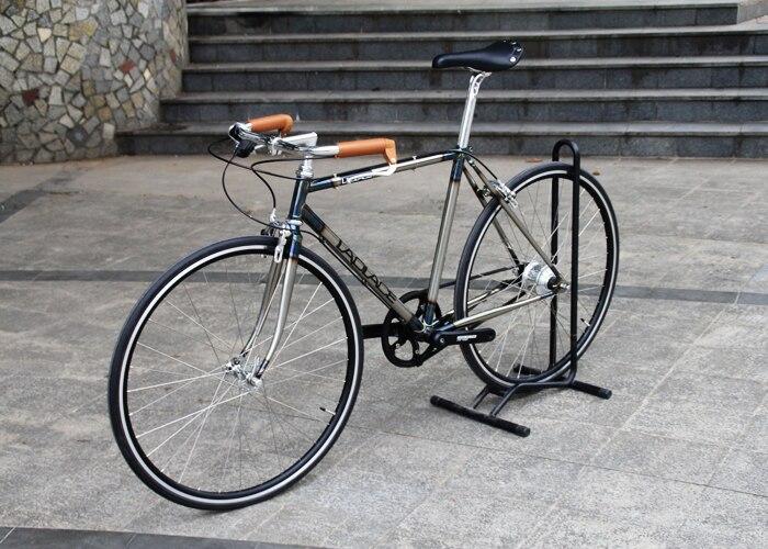 La ciudad En Bicicleta LAPLACE marco CR-MO Hacen a mano marco antiguo fashon de