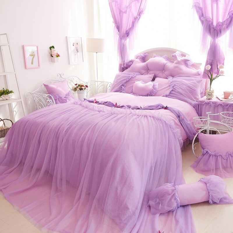 Online Kaufen Großhandel lila bettwäsche set aus China lila ...