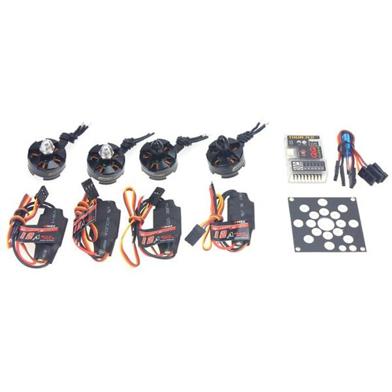 F12065-D RC Helicopter Kit KV2300 Brushless Motor +12A ESC+ QQ Super Multi-rotor Flight Control for 250 Helicopter DIY cassida 2300 d