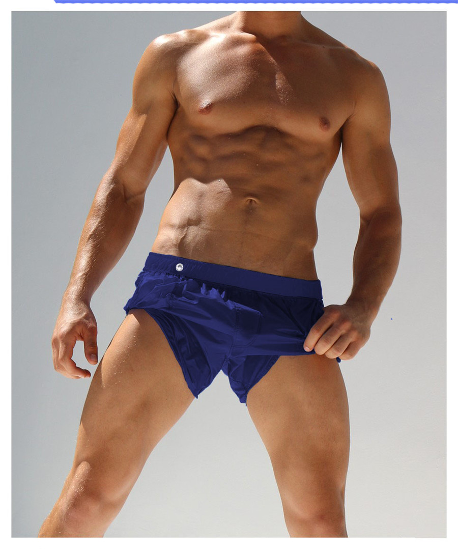 Topdudes.com - New Men's Sexy Beach Quick Dry Short Pants