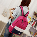 MIWIND EXO School Bag for Gilrs Canvas Backpack Mixed Color Korean Preppy Style Mochila Letter Printing Leisure Bolsa Feminin