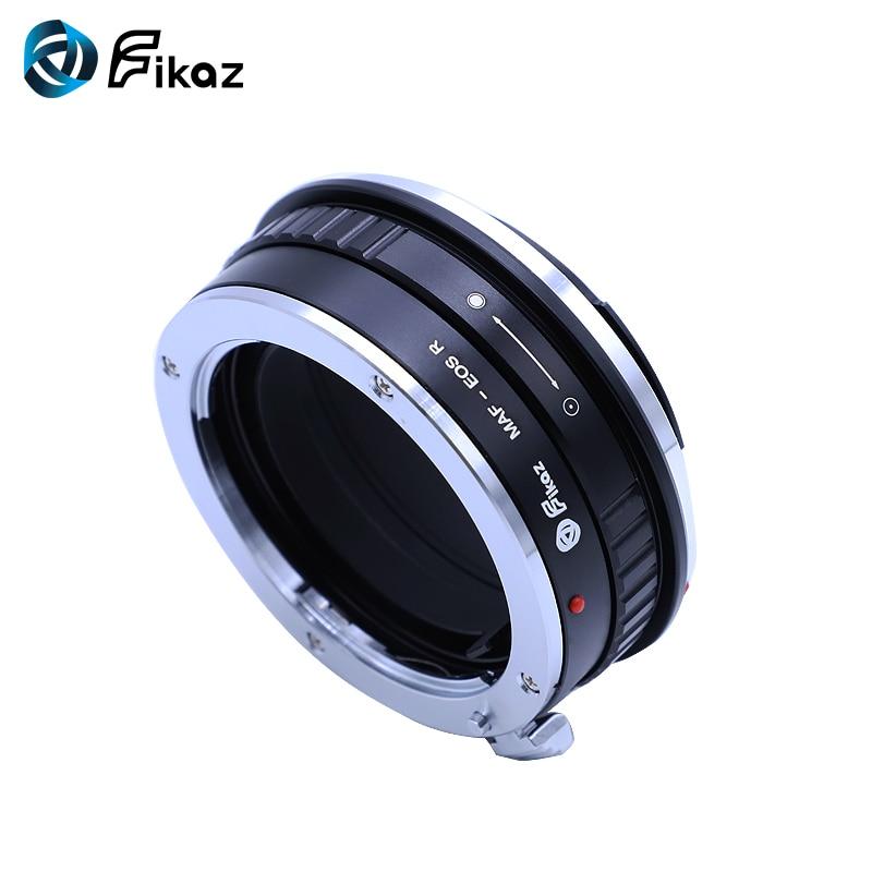 Fikaz pour Minolta (AF)-bague d'adaptation pour monture d'objectif EOS R pour objectif Minolta AF vers caméra de montage Canon EOS R - 4