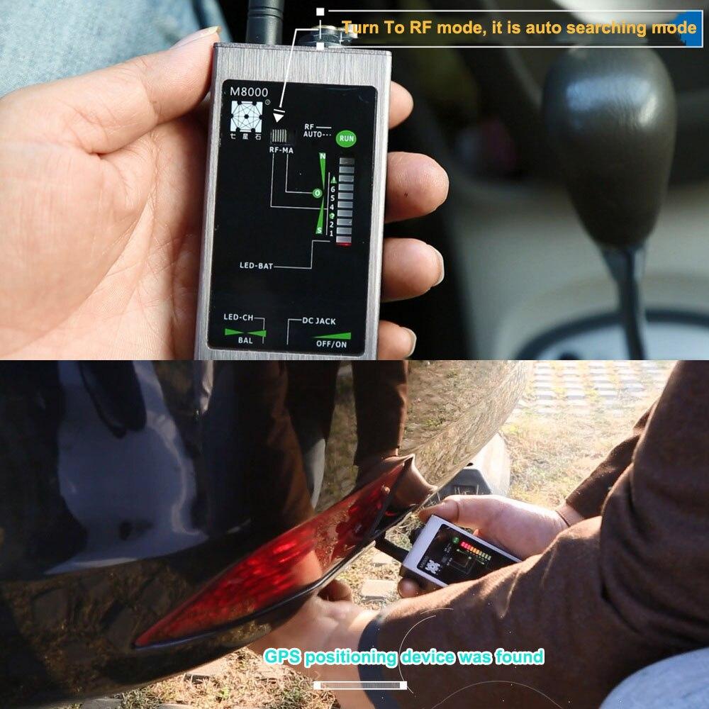 rastreador rf gsm dispositivos magneticos m8000 scanner 05