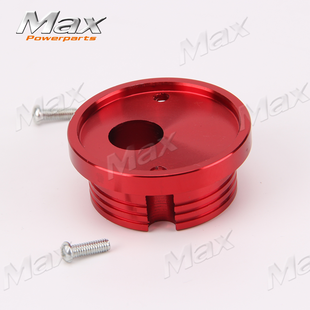 Red CNC Aluminum Inlet Manifold <font><b>Pocket</b></font> <font><b>Bike</b></font> <font><b>2</b></font> <font><b>Stroke</b></font> <font><b>Gas</b></font> <font><b>Scooter</b></font> <font><b>Motorized</b></font> Bicycle Mini Motor Intake 33 49CC <font><b>Scooter</b></font> Goka