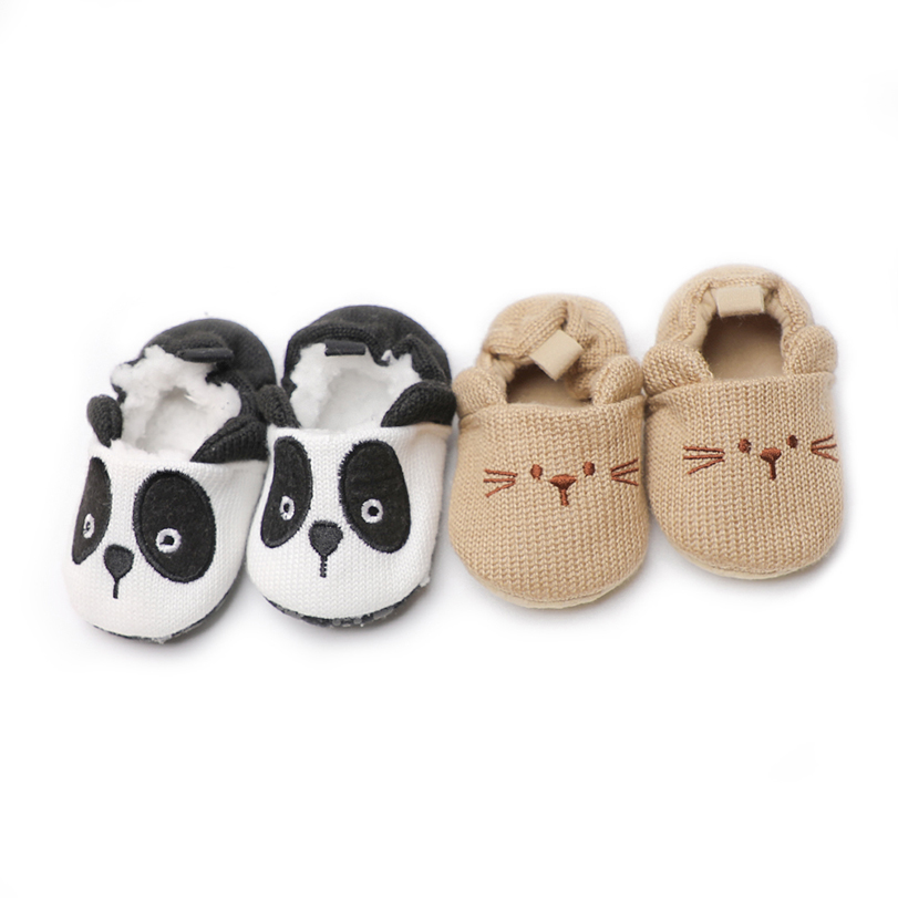 baby shoes boy girl newborn 0-18 months crib shoes Slip-On first steps slippers cute moccasins moccs babies soft kids footwear