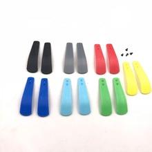 Plástico multicolorido para sony playstation 4 ps4, controlador de remos
