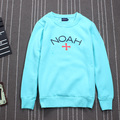 2016 Noah Camisolas Das Mulheres Dos Homens 1:1 de Alta Qualidade 100% Algodão Hip Hop Skate Nyc Amantes Hoodies Streetwear Hoodies Noé Noé
